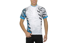Löffler Race Light Cross Herren Bike-Trikot weiß-royal